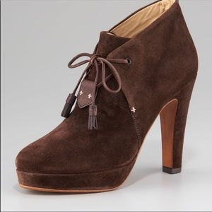 RAG&BONE Lovell suede lace up brown booties size39